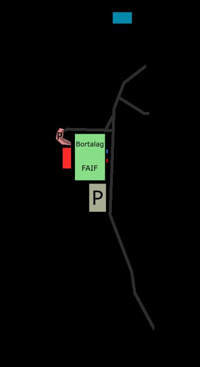 Orienteringskarta över Fjärdsjömåla IP