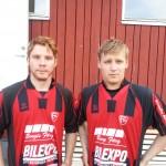 Nils-Johan Holmberg och Mikael Bruun
