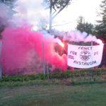Flymen Ultras bjöd på nytt färgstarkt tifo
