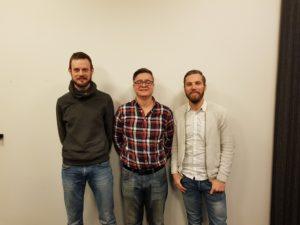 Nya tränartrion: Marcus Degerskär, Ricardo Carreno, Johan Eriksson